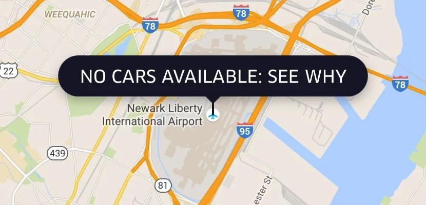 Uber Car Service To Newark Airport