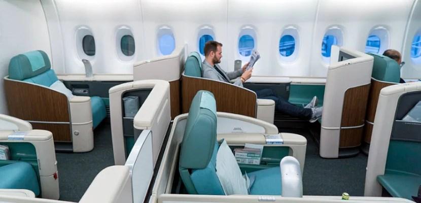 Korean Air's first-class product.