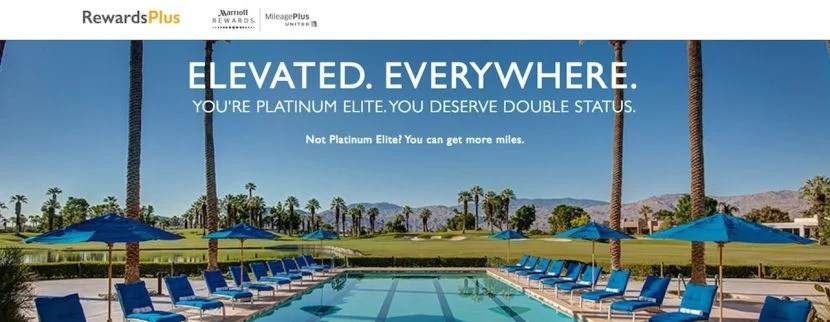 The RewardsPlus program is a great way to make the most of stays with Marriott and flights with United.