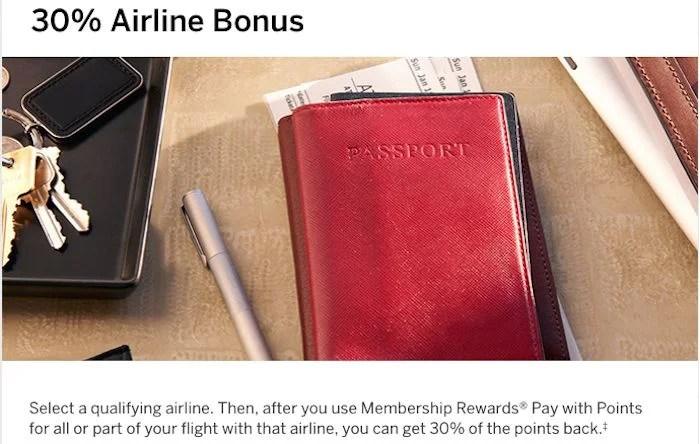 Even with 30% of your points back, there are better ways than redeeming MRs for paid travel.