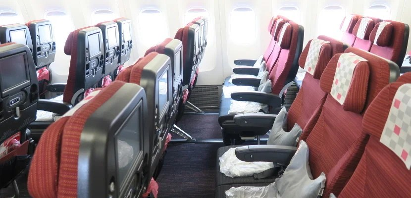 JAL featured seats economy 777-300ER