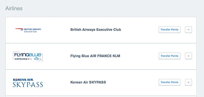 You can now transfer Ultimate Rewards points to Flying Blue as well.