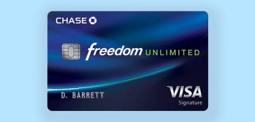 chase freedom unlimited featured