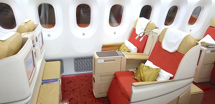 Air India seats feat
