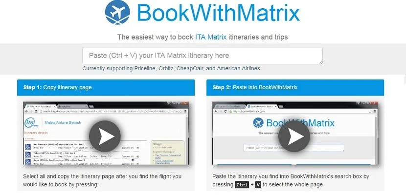 BookWithMatrix header