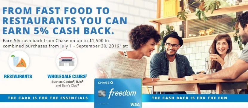 Earn up to $75 cash back - or 7500 Ultimate Reward points - for your Q3 purchases.