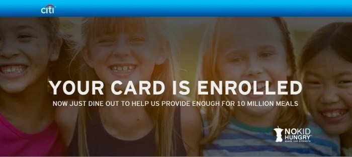 Make sure to enroll your Citi credit card(s) now.
