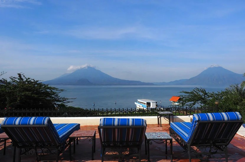 Lake Atitlan is absolutely stunning.