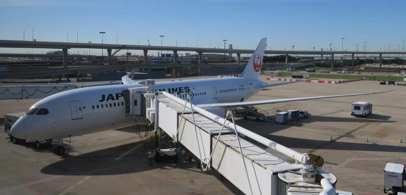 JAL 787-800 DFW