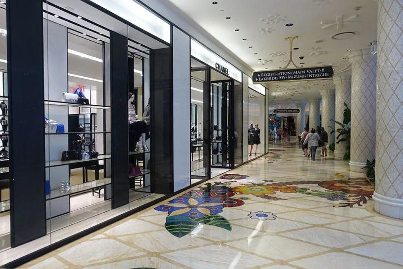 Las Vegas is a shopper's paradise.