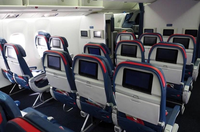 The Delta Comfort+ cabin.