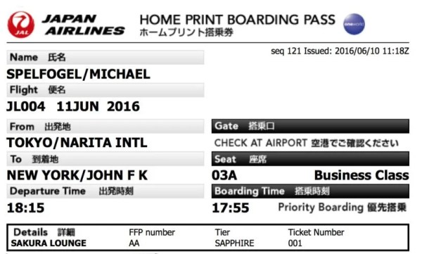 Booking and getting my boarding pass online was easy.