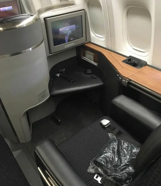 My 777-300ER Flagship Suite for the JFK-MIA leg.