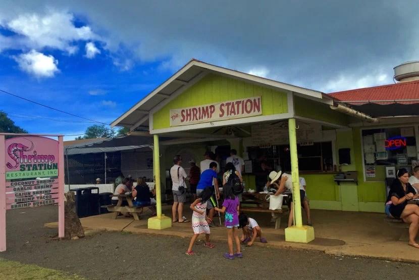 The Shrimp Station: Where dance battles often break out over who gets the last coconut-fried-morsel.