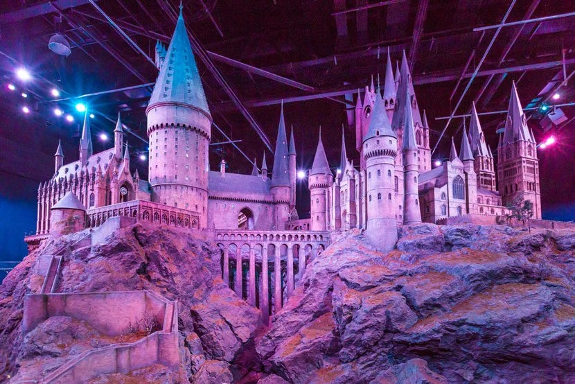 "See a replica Hogwarts Express train at the Harry Potter Studio Tours. Image courtesy of <a href=""http://www.shutterstock.com/pic-396963421/stock-photo-london-united-kingdom-march-a-scale-model-of-hogwarts-at-the-warner-bros-studio-tour.html?src=fAePBo--CFBvi48RiBOjmA-1-3"" target=""_blank"">Shutterstock</a>."