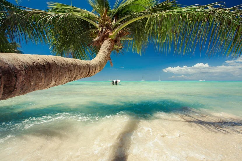 Punta Cana offers dozens of beachfront properties. Image courtesy of Shutterstock.