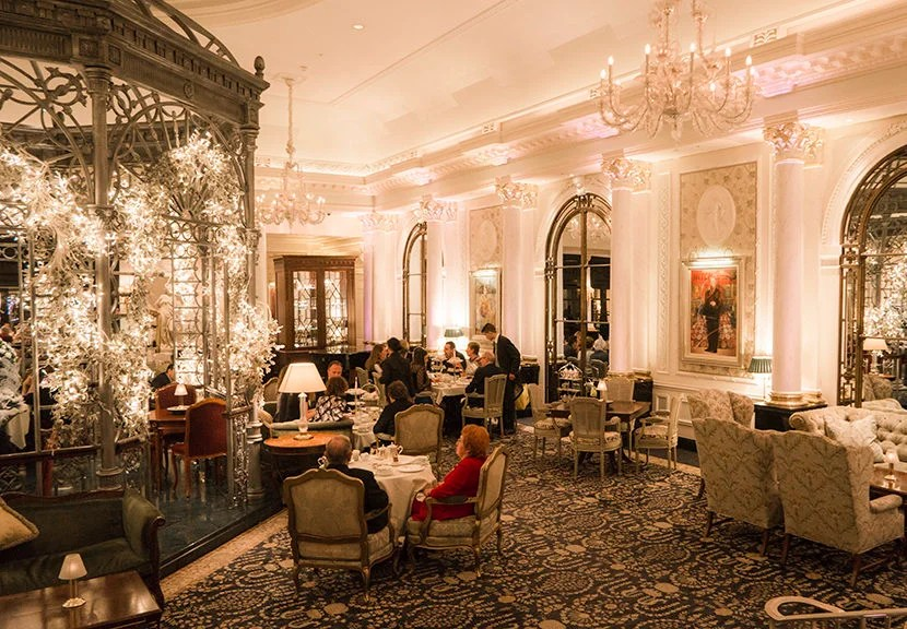 Afternoon tea in the Savoy Hotel's Thames Foyer is a luxurious treat. Image by Kofi Lee-Berman.