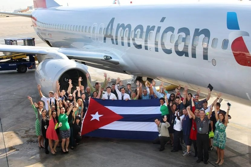 Don't forget that you can book AA flights to Cuba with British Airways Avios. Image courtesy of American Airlines.
