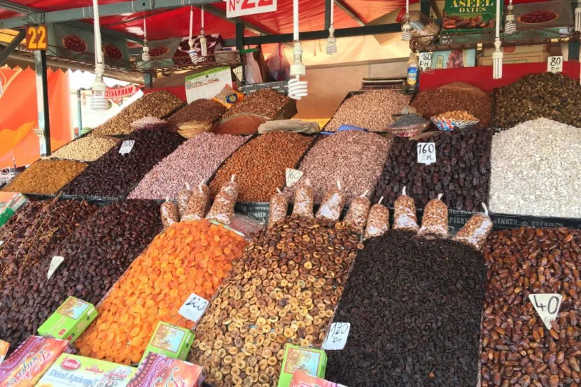 Marrakesh is famous for its spice markets.