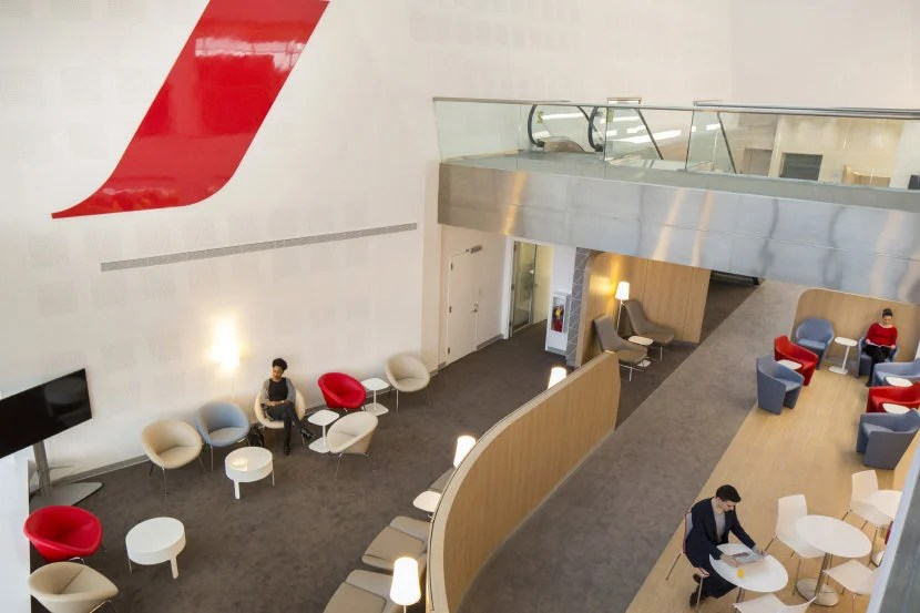 Cardholders have access to Priority Pass lounges, including the Air France lounge at JFK. Image courtesy of Air France.