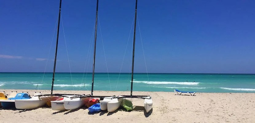 When in doubt, head to the beach in Varadero.