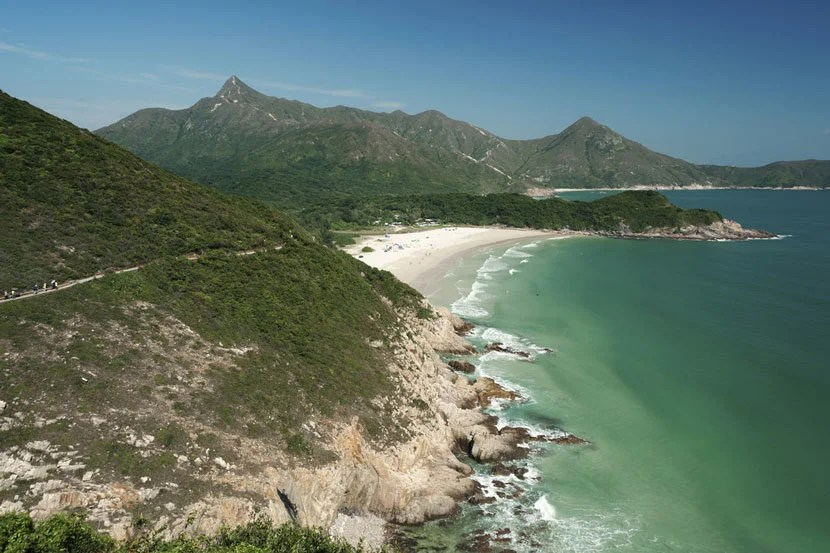 """The Hong Kong UNESCO Global Geopark is home to some of the New Territories' most beautiful scenery. Image courtesy of <a href=""""http://www.shutterstock.com/pic-103655183/stock-photo-hong-kong-global-geopark-of-china-sai-kung-district-new-territories.html?src=JThsMjv7v44x3f34bsOVXw-1-23"""">Shutterstock</a>."""