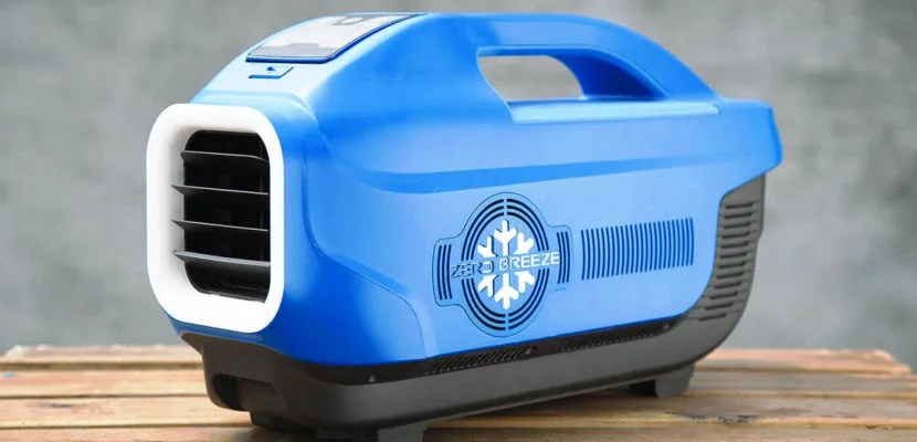 A New Portable Air Conditioner Will Keep You Cool On The Go