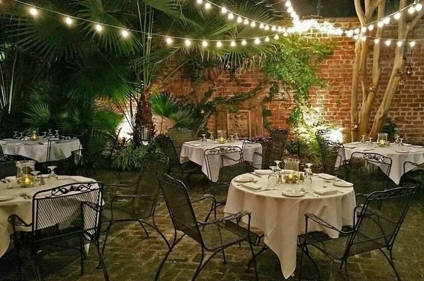 Bayona is the perfect spot for a romantic and delicious dinner in the French Quarter. Image Courtesy of Bayona's Facebook Page.