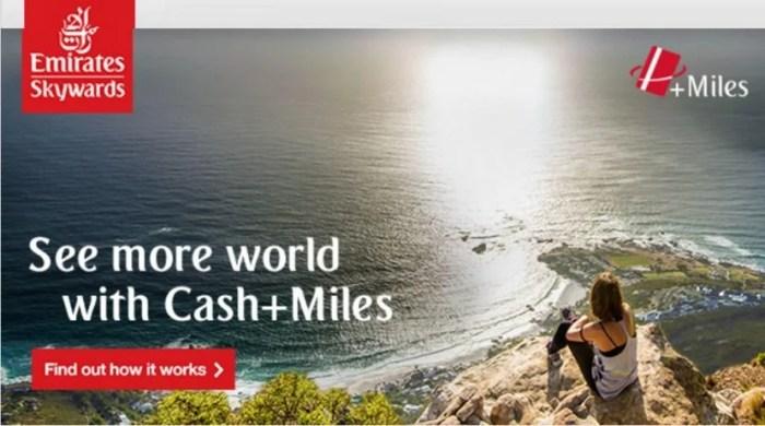 Emirates Cash+Miles banner