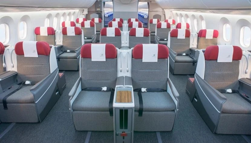 LAN operates a 787-9 between Madrid (MAD) and Frankfurt (FRA). Image courtesy of LATAM.