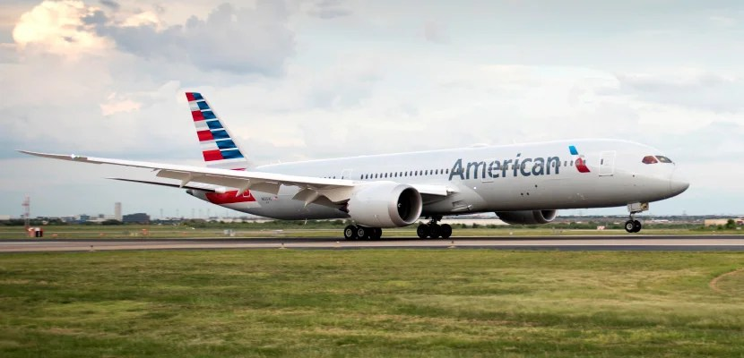 american airlines 787-9 dreamliner featured