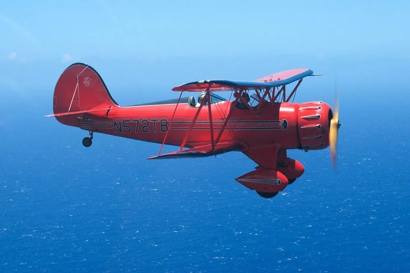 """If pressurized cabins just aren't your thing, seeKauai from a vintage biplane. Image courtesy of Air Ventures Hawaii's <a href=""""https://www.facebook.com/AirVenturesHawaii/photos"""" target=""""_blank"""">Facebook page</a>."""