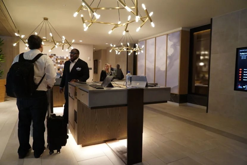 Whether or not you want to interact with a check-in agent might soon be up to you.