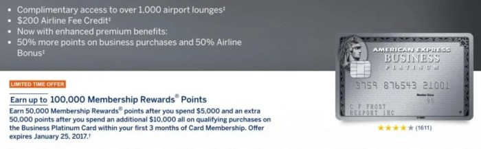 If you don't have the Amex Business Platinum, you might even be able to easily earn 100,000 bonus points.