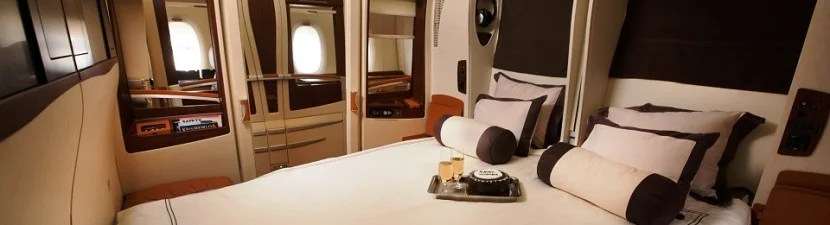 Want to fly Singapore Airlines' First Class Suites? You'll need to look and book on SingaporeAir.com.