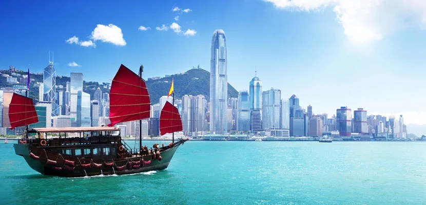Image of Hong Kong Harbour courtesy of Shutterstock.
