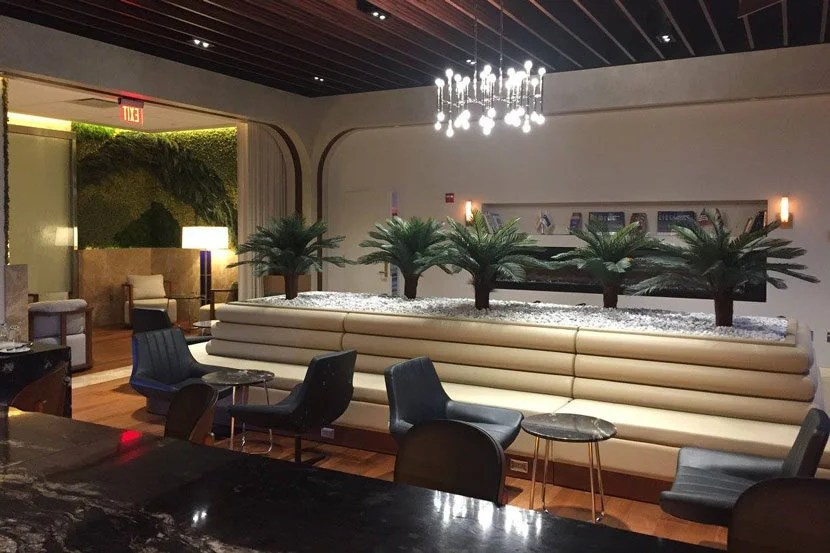 "The lounge's serene atmosphere is a great place to unwind before a flight. Image courtesy of Turkish Airlines Lounge's <a href=""https://www.facebook.com/TurkishLoungeIAD/photos"" target=""_blank"">Facebook page</a>."