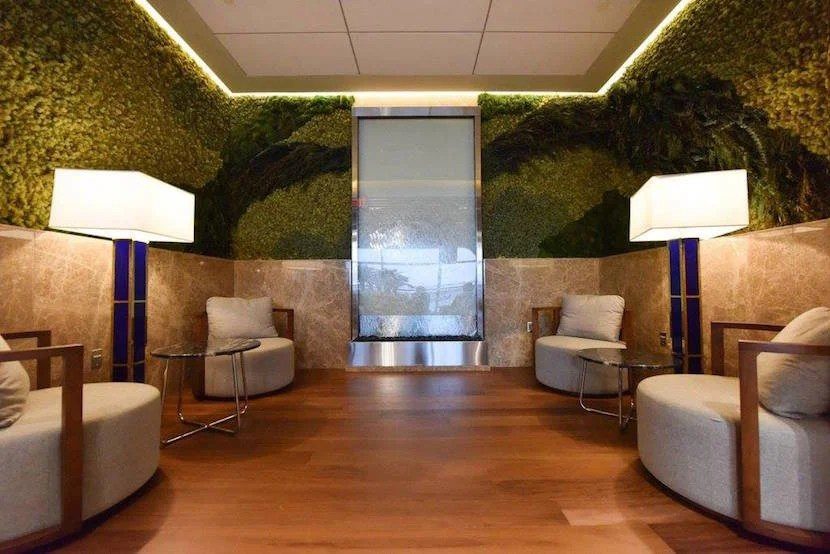 "Relaxation rooms are yet another of the lounge's Zen-focused features. Image courtesy of Turkish Airlines Lounge's <a href=""https://www.facebook.com/TurkishLoungeIAD/photos"" target=""_blank"">Facebook page</a>."