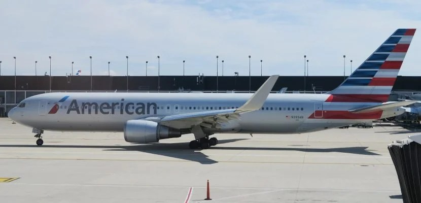 Another American Airlines 767-300 on the tarmac in Chicago's ORD.