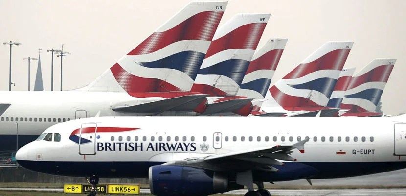LONDON, ENGLAND - OCTOBER 25:  A British Airways plane taxis from Heathrow's Terminal 5 on October 25, 2016 in London, England. At a cabinet committee meeting today the government approved a third runway at Heathrow airport. Many people in the nearby village of Harmondsworth are strongly opposed to the third Heathrow runway as it would likely mean the demolition of the village.  (Photo by Dan Kitwood/Getty Images)