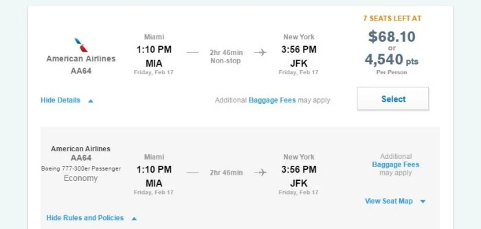 """If you can't find your email confirmation you can find the fare codes on etransparencia.ml's how: At the top right-hand-side of the home page, in the """"AAdvantage"""" tab, click on """"My Trips"""" On page that opens up you'll see a list of your upcoming trips booked through American Airlines."""