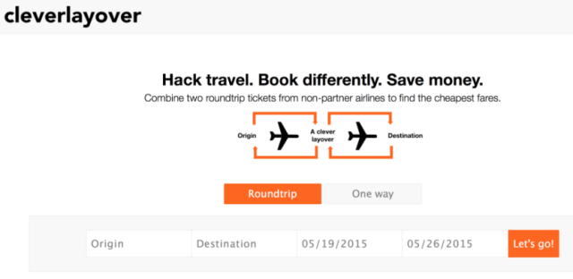 Cleverlayover, which seeks to help travelers save money on revenue tickets to Europe and beyond