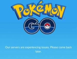 ThePokemonPlace - are pokemon servers down