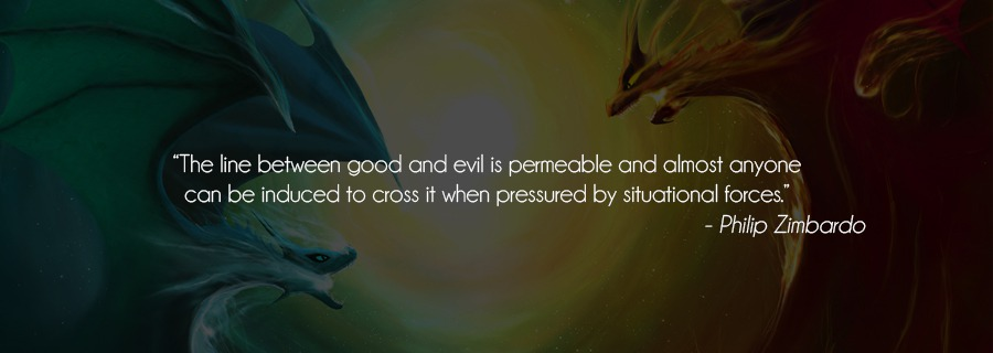 Good vs Evil : Do Good People Do Bad Things?