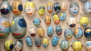 Kim Murton Wall of Heads