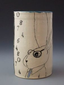 Patricia Griffin Bunny Guy Cup