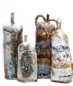Brenda Holzke Relic Flasks