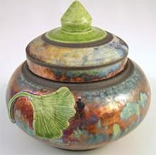 Robert Briggs Leaf Jar