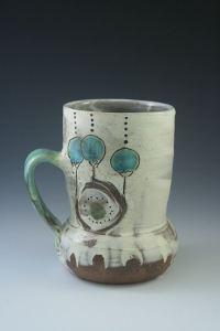 Maria Dondero Blue Berry Mug