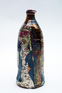 Chris Taylor Bottle With Roses
